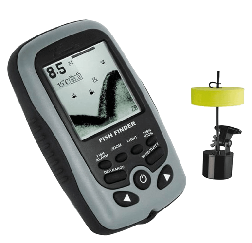 FishFinder With Sonar Sensor White